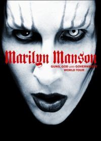 Cover Marilyn Manson - Guns, God And Government World Tour [DVD]